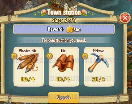 Golden Frontier Town Station Stage 2