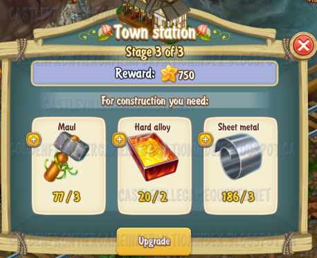 Golden Frontier Town Station Stage 3