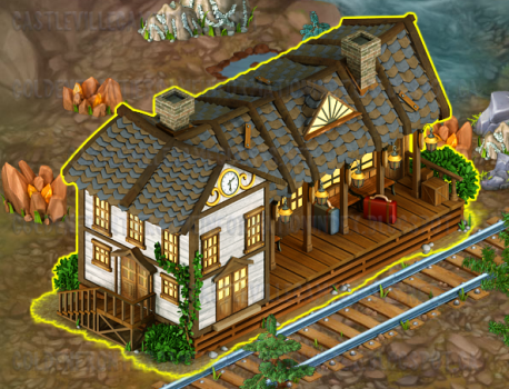Golden Frontier Town Station