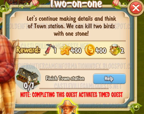 Golden Frontier Two on One Quest