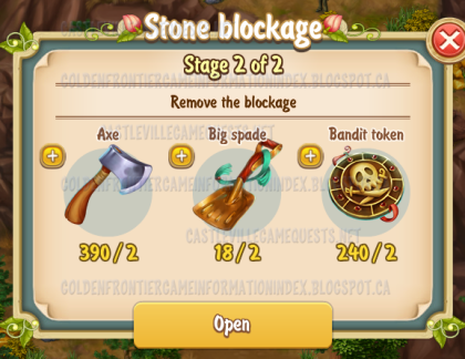 2nd Stone Blockage Stage 2