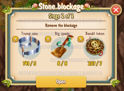 4th Stone Blockage Stage 2