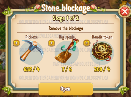 5th Stone Blockage Stage 1