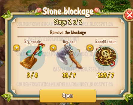 5th Stone Blockage Stage 2