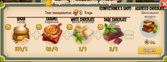 Assorted Chocolate (confectioner's shop)