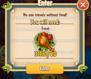 Bandits Canyon Food Cost
