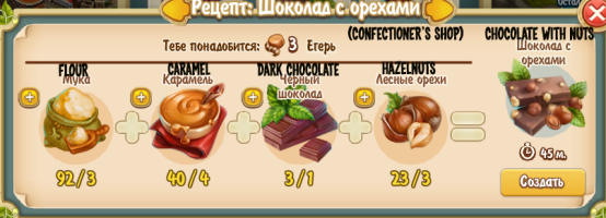 Chocolate with Nuts (confectioner's shop)