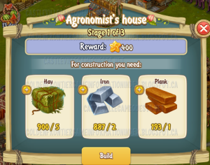 Golden Frontier Agronomist House Stage 1