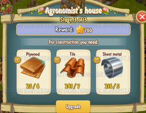 Golden Frontier Agronomist House Stage 3
