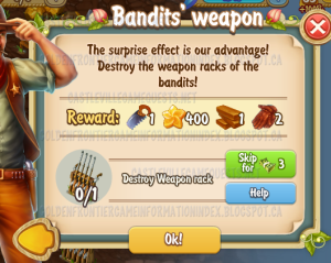 Golden Frontier Bandits' Weapon Quest