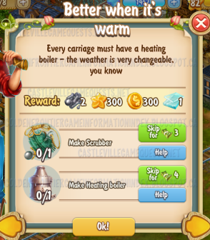 Golden Frontier Better When it is Warm Quest