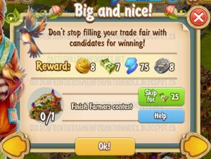 Golden Frontier Big and Nice Quest
