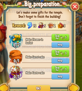 Golden Frontier Big Preparation Quest
