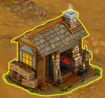 Golden Frontier Blacksmith's House