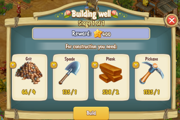 Golden Frontier Building Well Stage 1