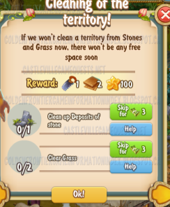 Golden Frontier Cleaning of the Territory Quest