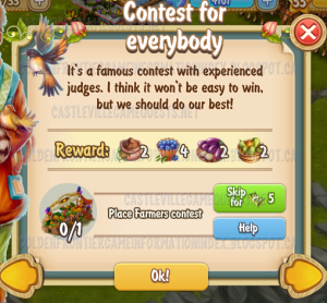 Golden Frontier Contest for Everybody Quest