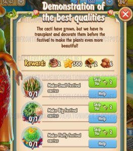 Golden Frontier Demonstration in Best Qualities Quest