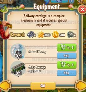 Golden Frontier Equipment Quest