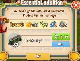 Golden Frontier Essential Addition Quest