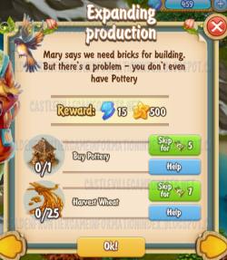 Golden Frontier Expanding Production Quest