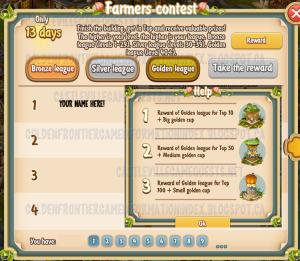 Golden Frontier Farmer's Contest Top 100