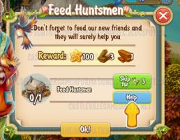Golden Frontier Feed Huntsmen Quest