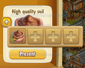 Golden Frontier Flower High Quality Soil (free gift)