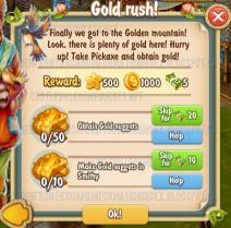 Golden Frontier Gold Rush Quest