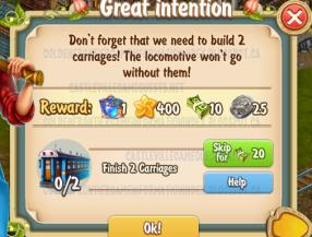 Golden Frontier Great Intention Quest