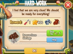 Golden Frontier Hard Work Quest