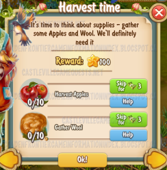 Golden Frontier Harvest Time Quest