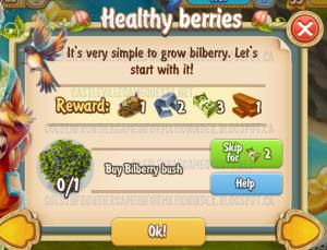Golden Frontier Healthy Berries Quest