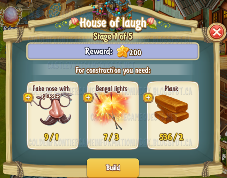 Golden Frontier House of Laugh Stage 1