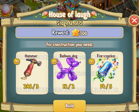 Golden Frontier House of Laugh Stage 2