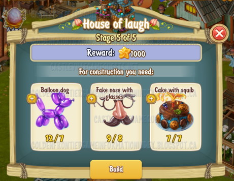 Golden Frontier House of Laugh Stage 5