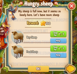 Golden Frontier Hungry Sheep Quest