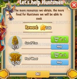 Golden Frontier Let's Help Huntsmen Quest