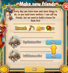 Golden Frontier Make New Friends Quest