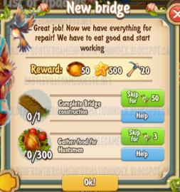 Golden Frontier New Bridge Quest