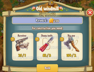 Golden Frontier Old Windmill Stage 1