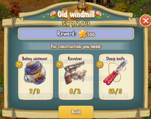 Golden Frontier Old Windmill Stage 2