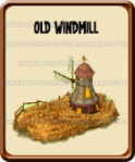Golden Frontier Old Windmill