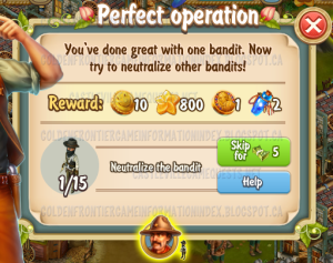 Golden Frontier Perfect Operation Quest