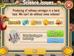 Golden Frontier Science Issues Quest