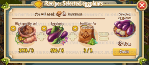 Golden Frontier Selected Eggplants Recipe (Agronomist House)