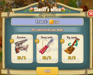 Golden Frontier Sheriff's Office Stage 1