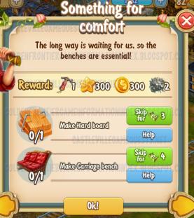 Golden Frontier Something For Comfort Quest