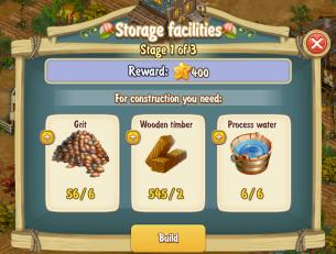 Golden Frontier Storage Facilities Stage 1