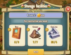 Golden Frontier Storage Facilities Stage 2